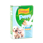 FRISKIES DOG PUPPY BISCUIT CON LATTE