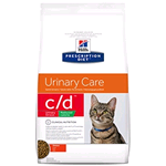 HILL'S CAT PRESCRIPTION DIET C/D URINARY STRESS REDUCED CALORIE KG 1,5