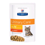 HILL'S CAT PRESCRIPTION DIET C/D MULTICARE BUSTA GR 85 (12 PZ)