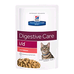 HILL'S CAT PRESCRIPTION DIET I/D SALMONE BUSTA GR 85 (12 PZ)