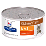 HILL'S CAT PRESCRIPTION DIET K/D LATTINA GR 156