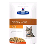 HILL'S CAT PRESCRIPTION DIET K/D POLLO BUSTA GR 85 (12 PZ)