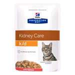HILL'S CAT PRESCRIPTION DIET K/D SALMONE BUSTA GR 85 (12 PZ)