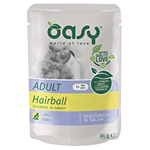 OASY CAT BUSTA ADULT HAIRBALL IN SALSA GR 85