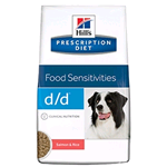 HILL'S DOG DIET D/D SALMONE KG 12