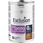 EXCLUSION DIET HYPOALLERGENIC CONIGLIO E PATATE LATTINA GR 400